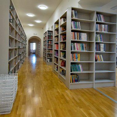 Vstup do knihovny