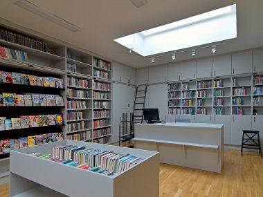 Pracoviště knihovnic v oddělení pro dospělé
