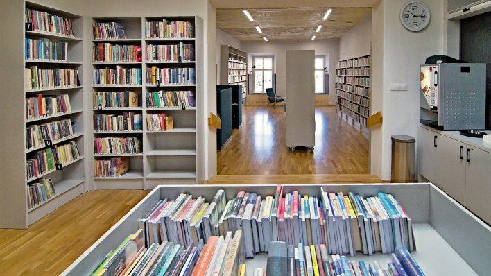 Knihovna se otevřela v novém hávu