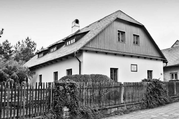 Tady to začalo - Gallašův rodný dům.