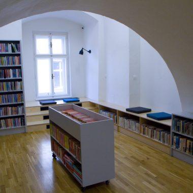 Koutek ke čtení